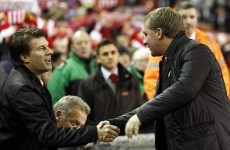 Brendan Rodgers accepts defeat to Swansea