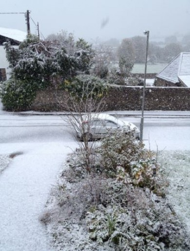 First snow… on the border of Cork/Limerick/Tipp