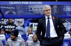 Hughes frustrated by another missed chance