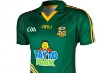 Meath's new Tayto Park-sponsored jersey isn't half-bad