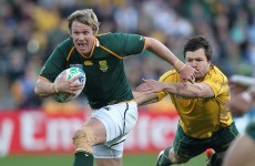 Guinness Series: Jean de Villiers eager to pile on the misery for old Munster friends