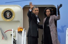 Back to work: Obama heads back to Washington as 'fiscal cliff' looms