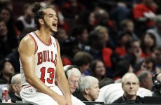 Joakim Noah 'regret' after trying 3-pointer to win burgers for Bulls fans