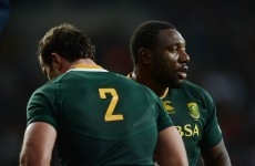 Late change: 'The Beast' ruled out of Ireland v South Africa