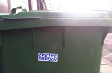 Rebellious Wheelie Bin of the Day