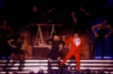 Oh dear. Madonna does Gangnam Style on stage in NYC