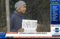 Rafa Benitez bids to win round Chelsea fans