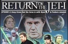 Return of the Jet-i: check out the New York Post's insane Jets-Pats 'Star Wars' cover