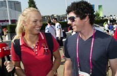 Caroline Wozniacki grills boyfriend Rory McIlroy about her Christmas present in Dubai press conference