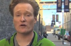 Conan O'Brien gets in on The Gathering buzz