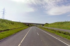 Truck on fire leads to M1 closure