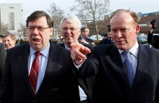 Junior ministers line up to force Cowen out