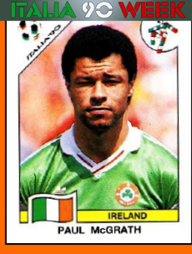 Memory lane: The Panini sticker collection of Ireland's Italia 90 squad
