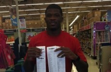Good news: Houston's Andre Johnson spent 19 grand on kids in protective services today