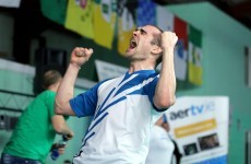 Scott Evans wins Irish Open badminton title