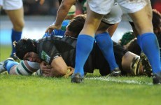 Heineken Cup: Julian Salvi at the double for Tigers as Welsh woes continue