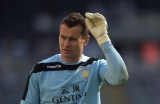 Lambert won't let Shay Given leave Villa on loan in January