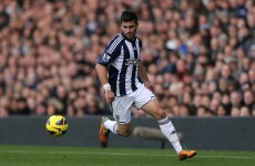 Going nowhere: Long plays down transfer rumours