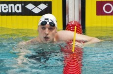 Murphy finishes tenth overall in Breaststroke semi-final