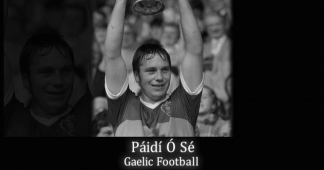 The BBC pays its tribute to Páidí Ó Sé