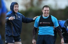 Leinster looking to laugh off defeat as attention turns north