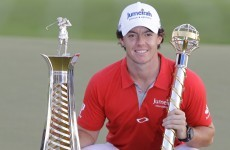 McIlroy named European Golfer of the Year