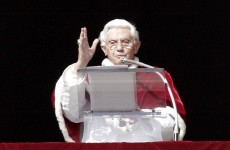 Pope says mankind at stake over gay marriage