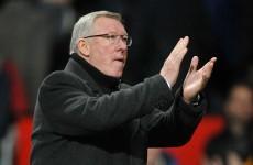 Ferguson sets United New Year's Day goal