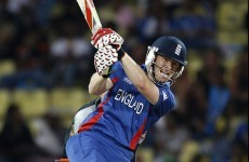 Eoin Morgan rescues England win with last-ball bludgeon for 6
