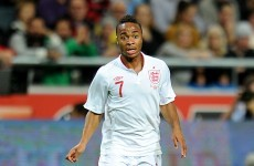 Sterling pledges his future to England