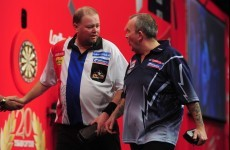 Phil Taylor: 'I reacted angrily and I feel terrible.'