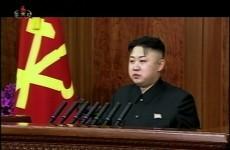 Kim Jong-Un calls for Korean reunification in rare TV address