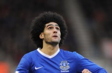 Fellaini says he will see out his Everton contract