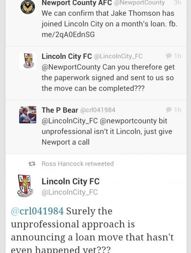 How not to do business during the January transfer window...