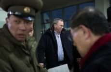 Google boss Eric Schmidt arrives in North Korea