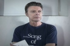 """Will new Bowie album """"knock Taylor feckin Swift off the top of the charts""""?"""