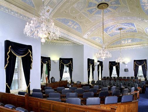 This week's hearings will be held in the Seanad chamber to allow greater numbers to attend.