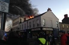 PICTURES: Fire services attend blaze in Ranelagh restaurant