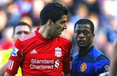 Ferguson hopes Evra, Suarez spat is settled