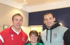Snapshot: 3 of our favourite sportsmen together at last