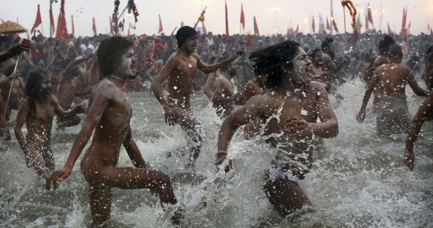 Pics: Kumbh Mela festival gets underway in India
