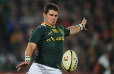 So much for secrecy: Morne Steyn is off to Stade Francais says agent