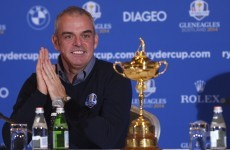 'It's very humbling' - McGinley named Ryder Cup captain