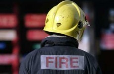 Van catches fire on M1 motorway in Louth