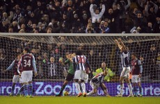 Villa punished by Odemwingie late show