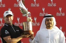 Donaldson plucks Rose to win in Abu Dhabi