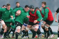 Henshaw and Coughlan named in Ireland Wolfhounds starting XV