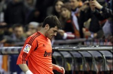 Good news Fergie! Casillas ruled out of United clash