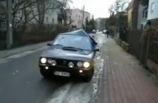 VIDEO: There's a problem with this man's car…