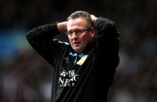'Quit? No chance' - Lambert remains defiant after yet another cup humiliation